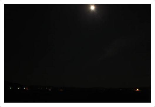 自宅から見る夜景